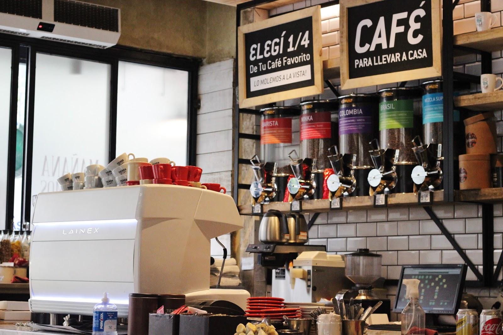 Tienda de Cafe Argentina caba