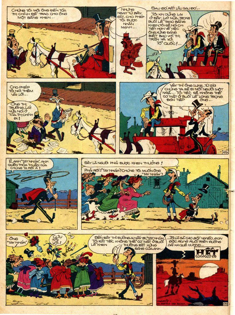 Lucky Luke tap 1 - ban tay nham trang 43