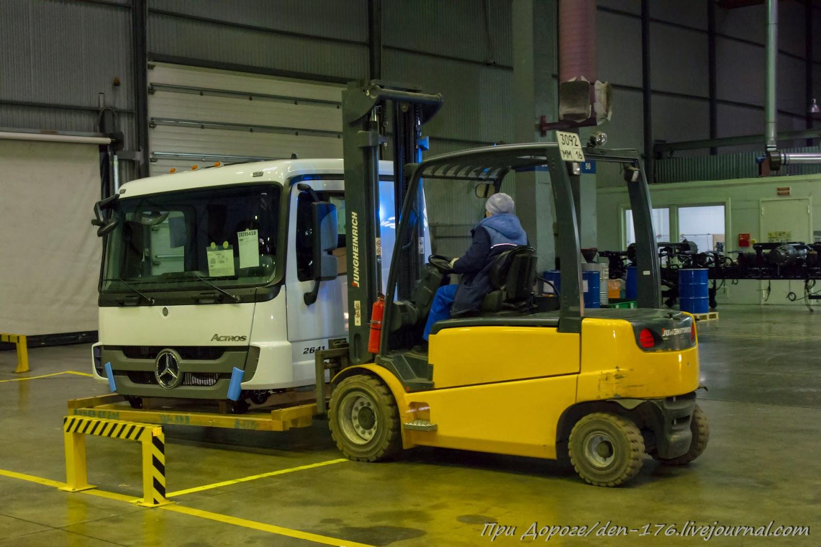 How to make MBTV 20 Mercedes Benz trucks in Naberezhnye Chelny