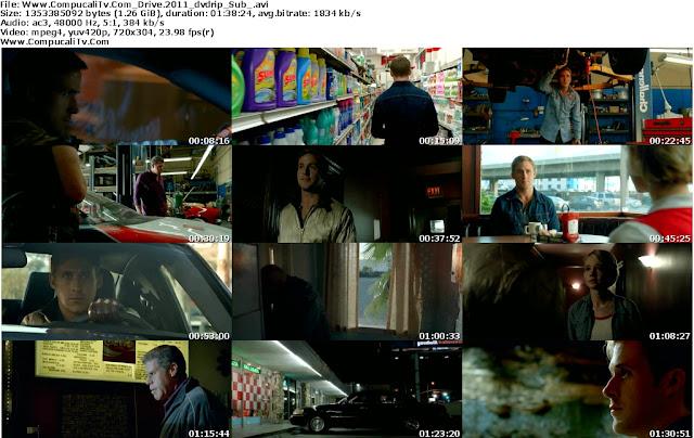 Capturas Drive 2011 DVDRip Español Latino