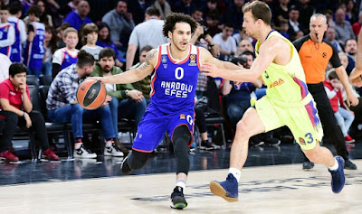 Shane Larkin - 37 points - Anadolu Efes - Barcelona Lassa