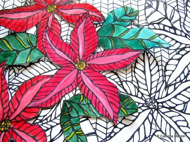 Image Result For Poinsettia Christmas Coloring