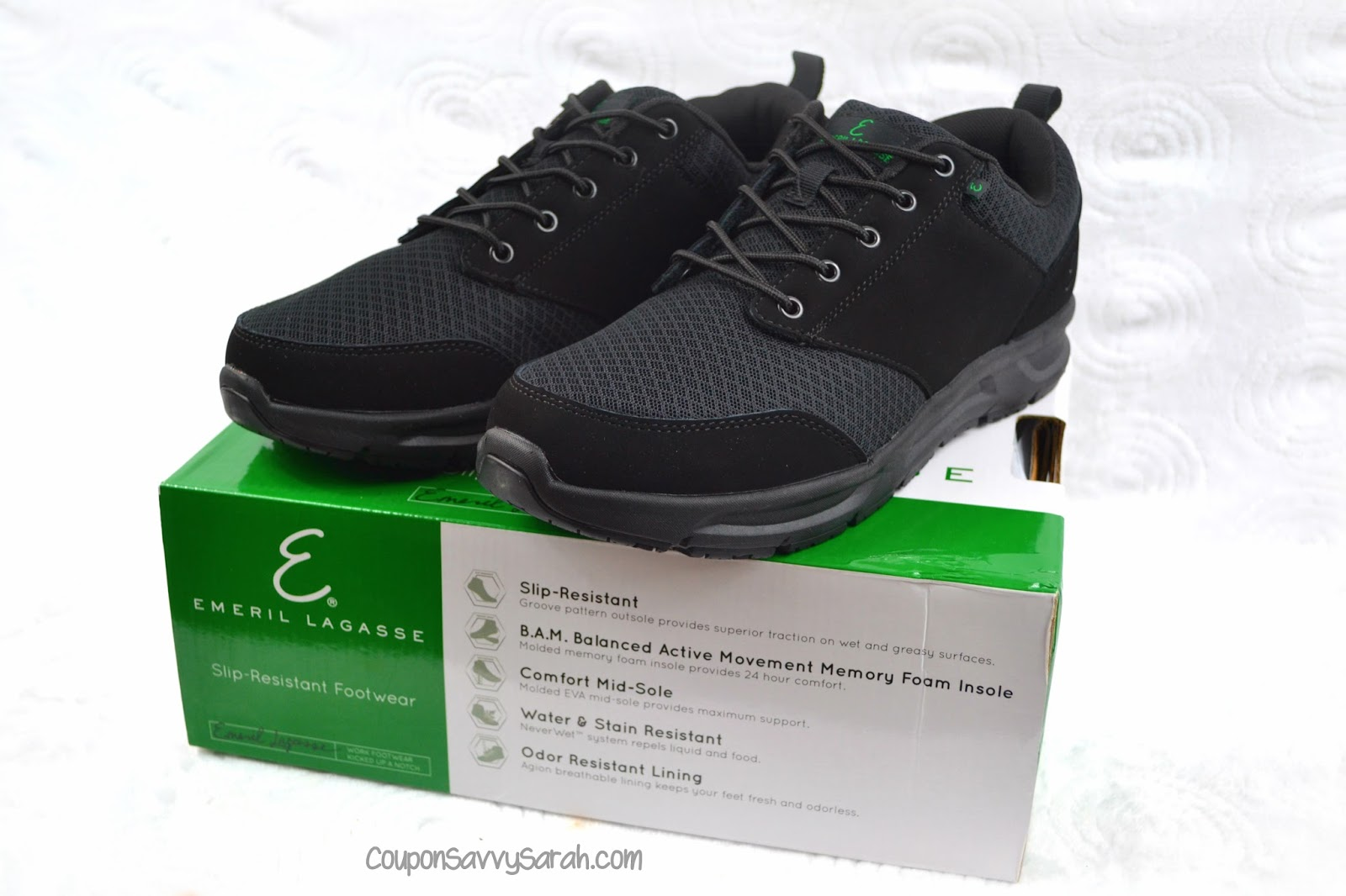 shoes to comfortable coupon own of slip enter new from your the resistant now sarah line win mesh work choose comforter pair savvy s for out shoe size try lagasse quarter emeril a chance footwear men