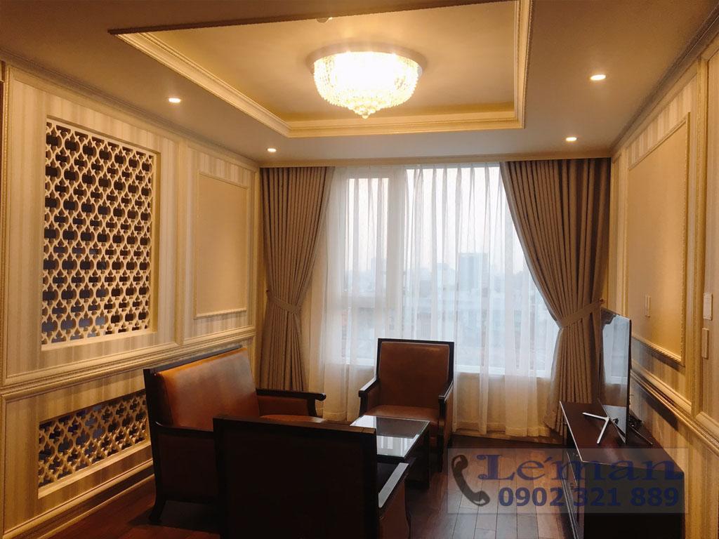 Léman Luxury trên đường Nguyễn Đình Chiểu cho thuê căn hộ 2PN