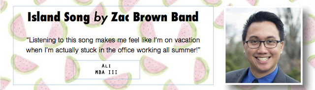Island Song by The Zac Brown Band - Summer Song Pick