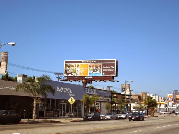 2014 Getty Villa tourism billboard
