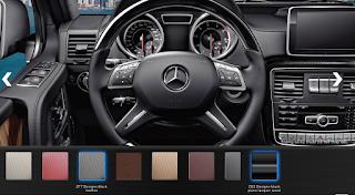 Nội thất Mercedes AMG G63 2015 màu Đen Leather ZF7