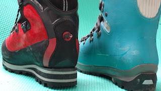 Leather vs Plastic Mountaineering Boots
