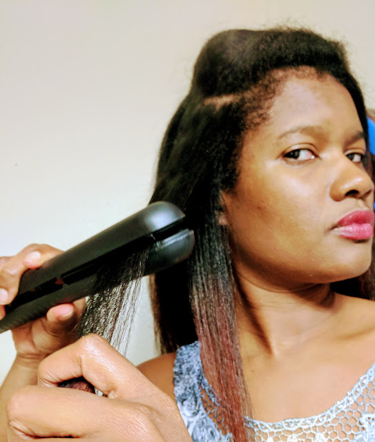 Healthy ways to Straighten natural hair