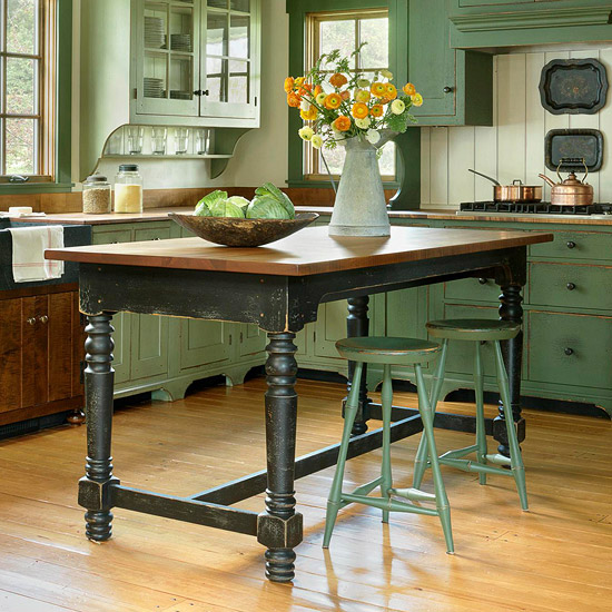 Wood Mode Kitchen With A Gorgeous Kitchen Island Http: Remodel Chicagoland: Amazing Kitchen Island Ideas