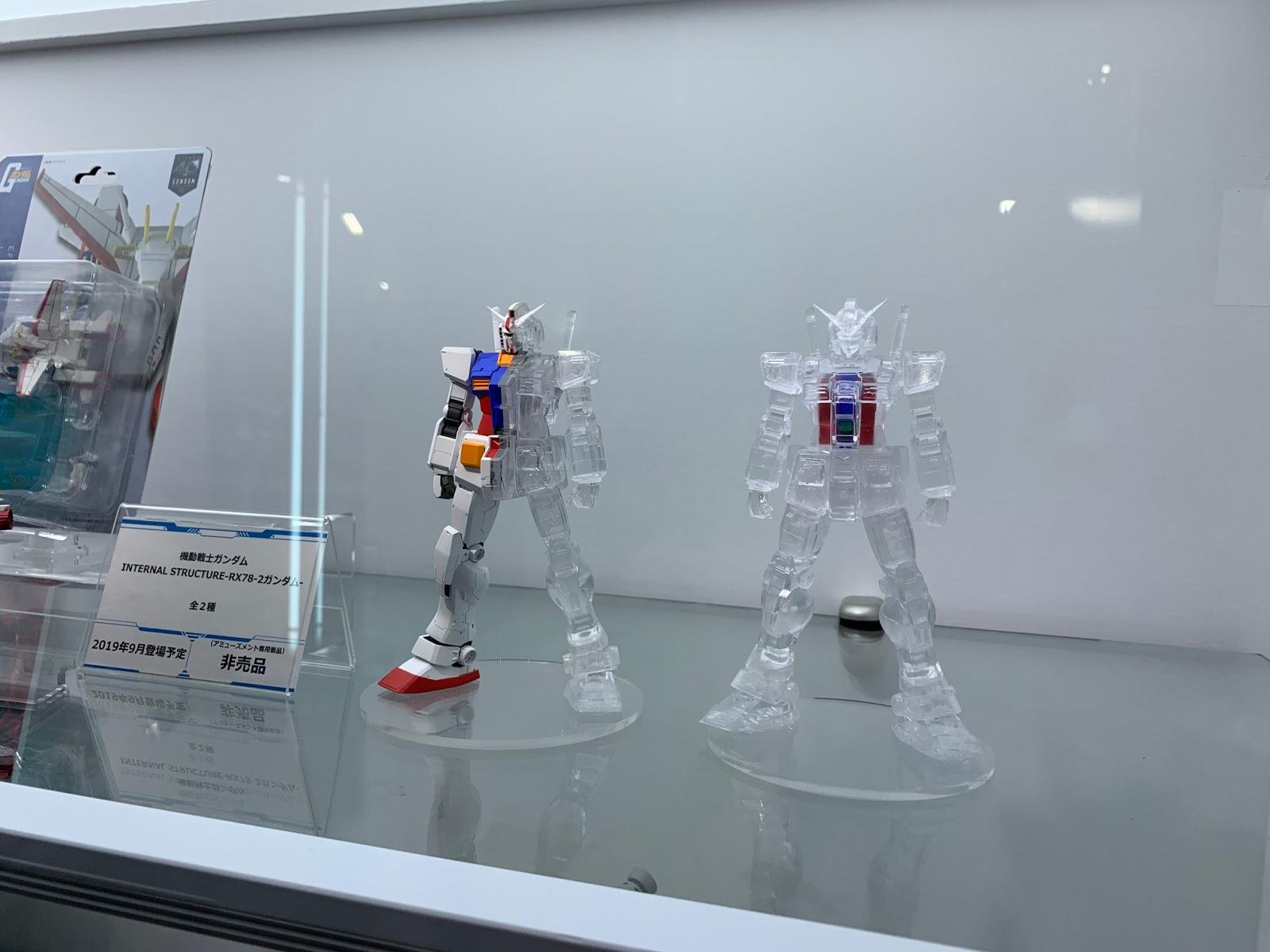 Figure Banpresto Mobile Suit Gundam Internal Structure RX-78-2 Gundam ver. A