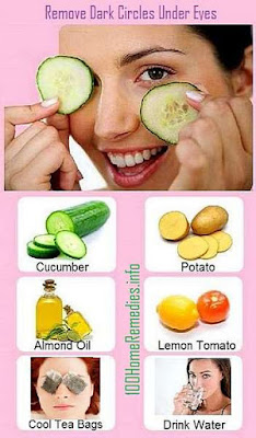 Natural home remedies for dark eye circles