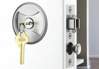 Delicieux Lockwood 7444 Keyed Pocket Door Locks   Just About SOLD OUT!