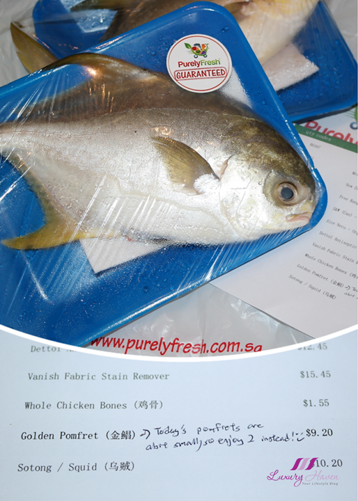 purelyfresh online grocery store fresh pomfret