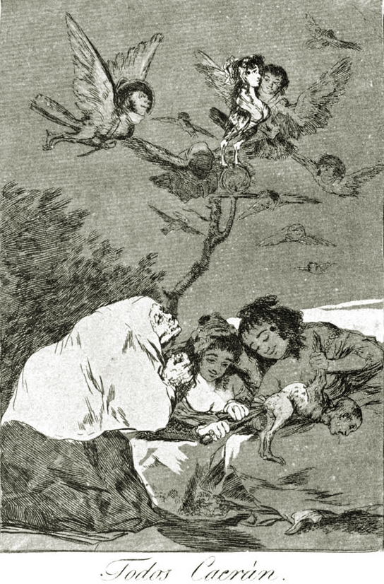 Francisco Goya Drawing TuttArt Pittura Scultura Poesia - Francisco goya paintings