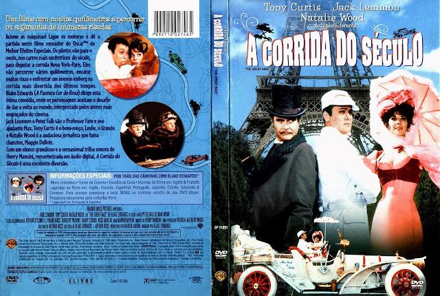 Capa DVD A Corrida do Século