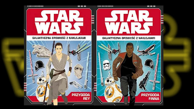 Recenzja - Star Wars™: Galaktyczna opowieść z naklejkami. Przygoda Rey i Przygoda Finna - Emily Stead, Emil Fortune