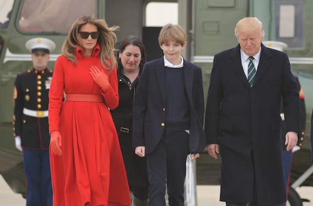 Donald Trump Jr. pic, Barron Trump pic,