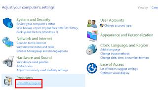cara menghapus aplikasi di laptop yang tidak ada di control panel