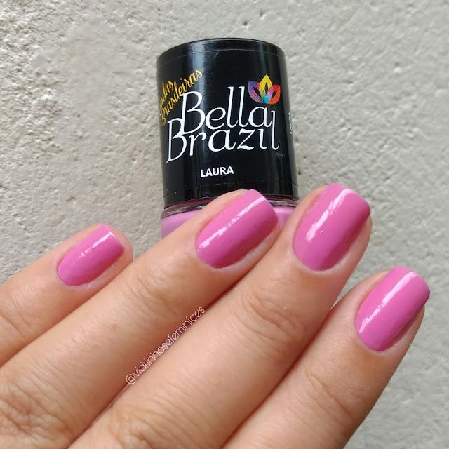 Esmalte Laura da Coleção Lindas Brasileiras