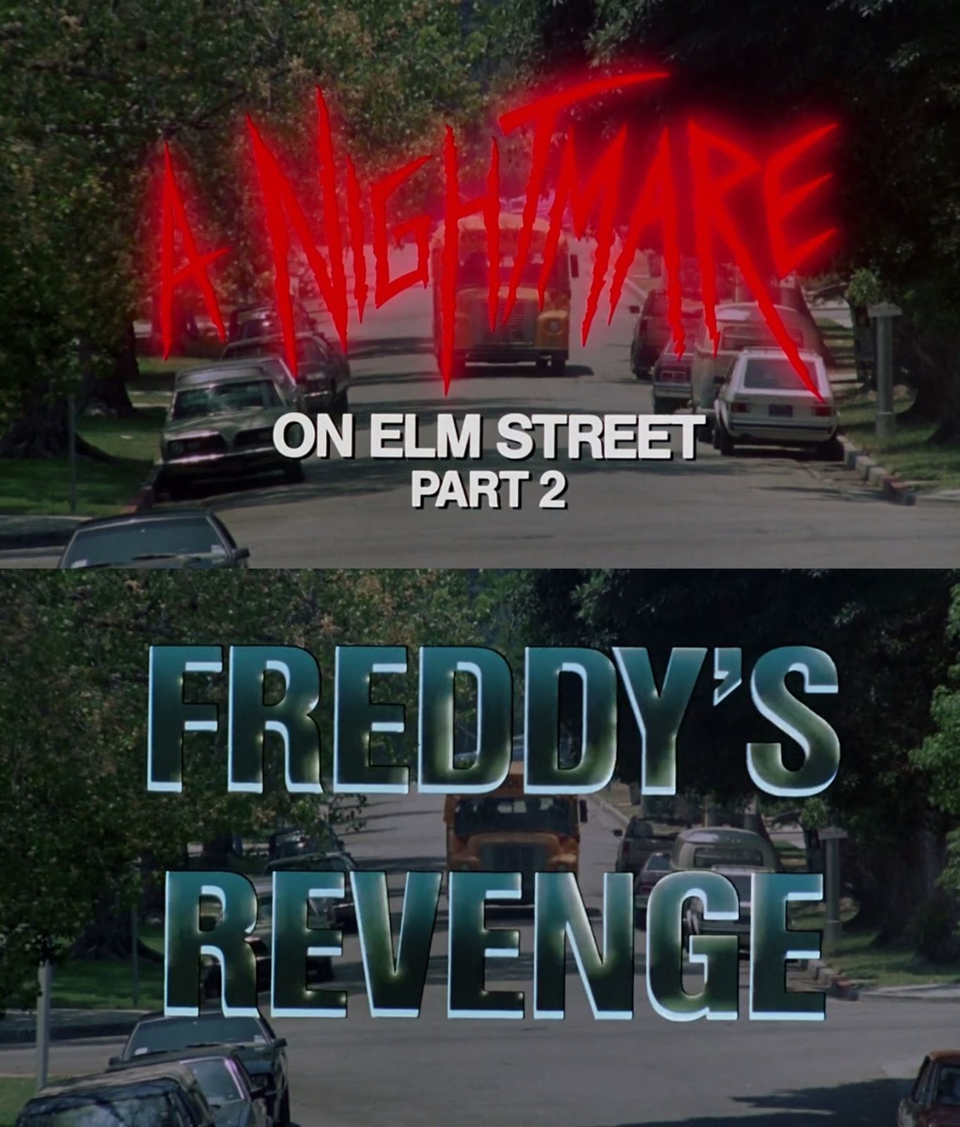 a nightmare title The world was introduced to wes craven's freddy krueger, (portrayed by robert englund), in 1984 with a nightmare on elm street krueger was a former child killer seeking revenge against the parents who burned him by haunting the dreams of their teenage children and killing them in their dreams.