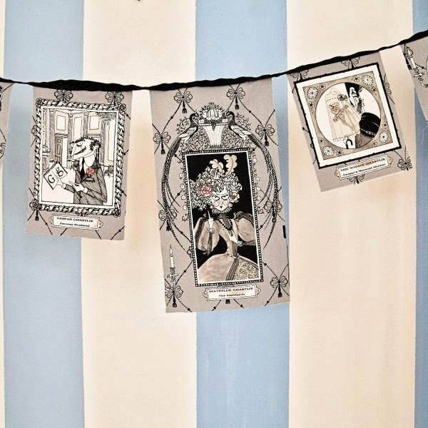 Spooky Illustrated Garland