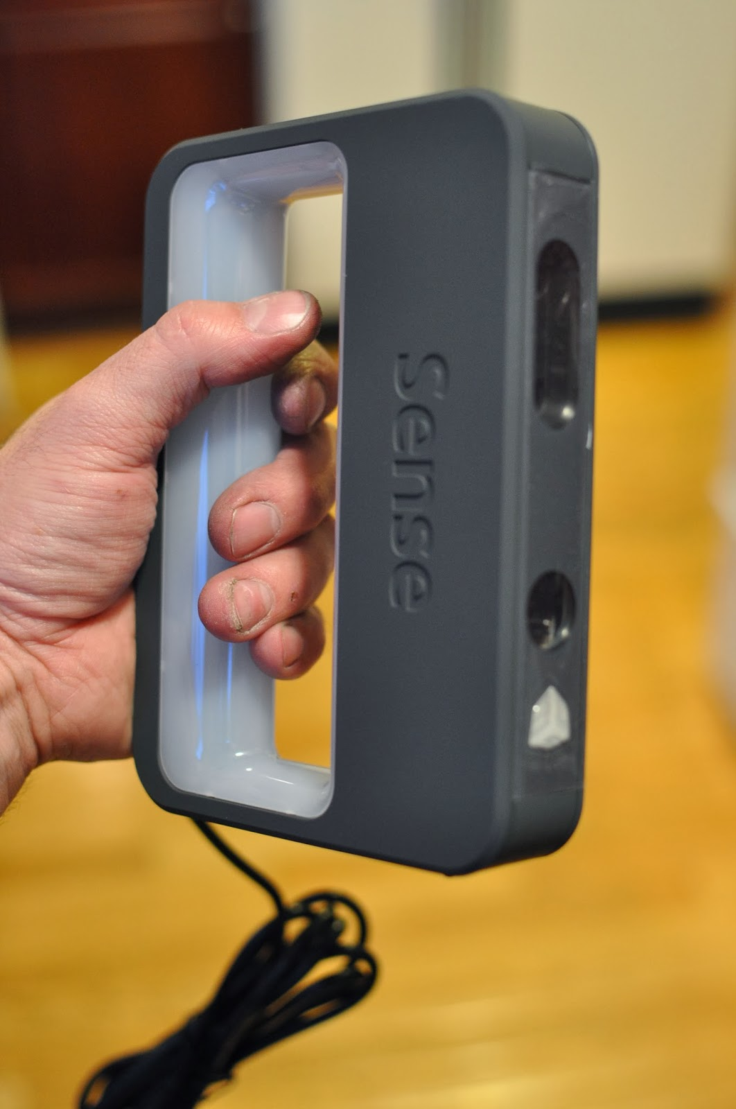 handverker: 3d systems sense scanner