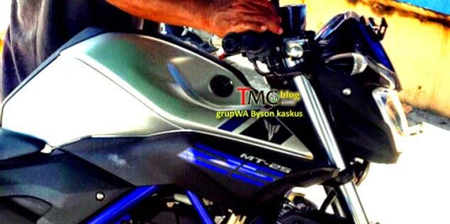 Gambar Yamaha MT-25 Di Dedahkan