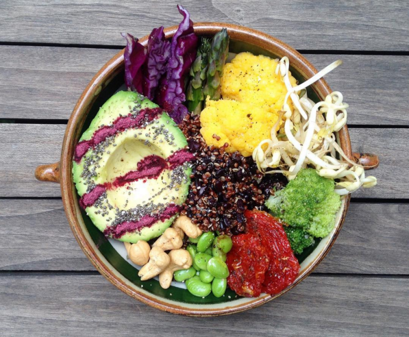 Полезные летние салаты с семенами чиа для борьбы с лишним весом