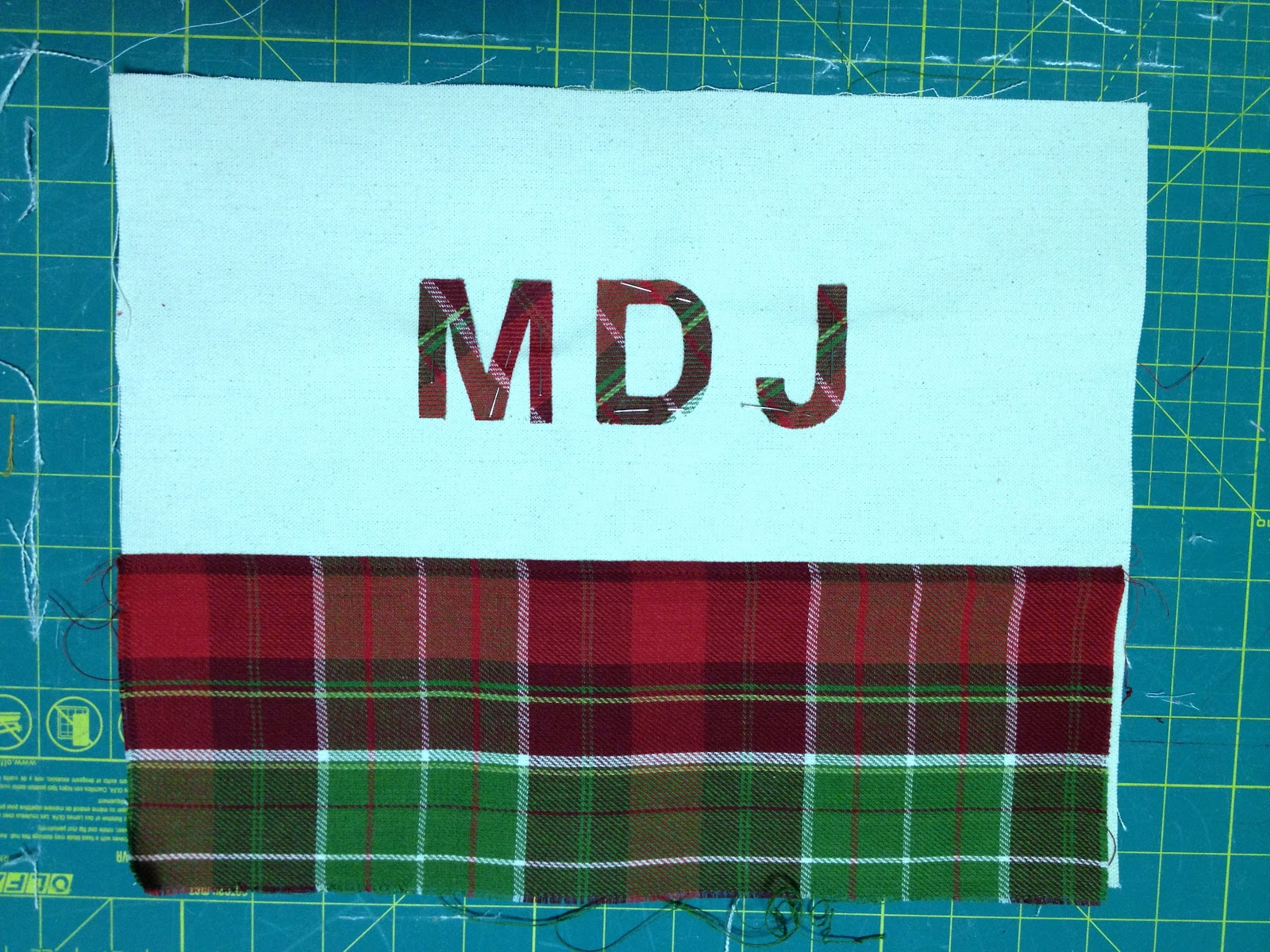That S My Letter P Is For Plaid Pouches