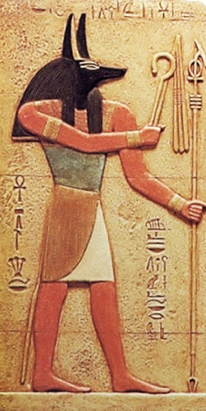anubis and isis relationship