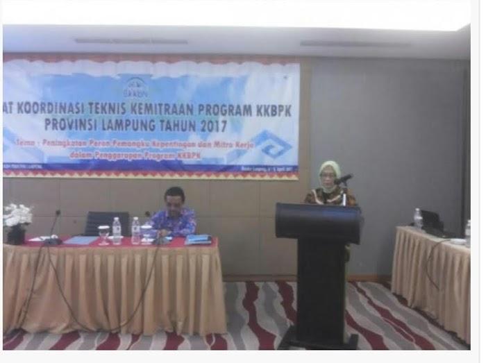 BKKBN Lampung Kemitraan Program KKBPK Harus Ditingkatkan