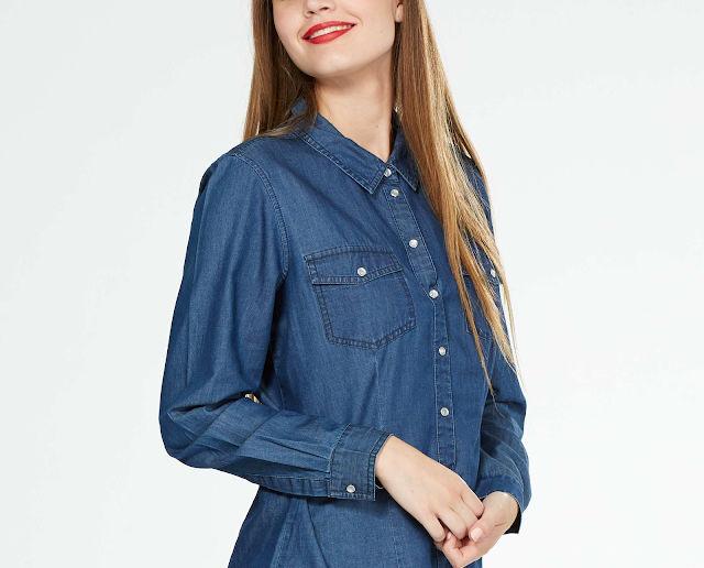 camicia jeans denim shirt kiabi