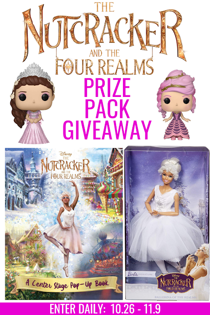 GIVEAWAY! Nutcracker and the Four Realms
