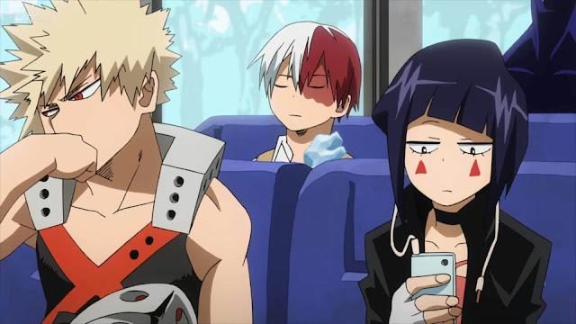 جميع حلقات انمى اكادمية بطلى الموسم الأول Boku no Hero Academia Season 1 بلوراي 1080P مترجم كامل اون لاين تحميل و مشاهدة جودة خارقة عالية بحجم صغير على عدة سيرفرات BD x265 اكادمية بطلى الموسم الأول Bluray