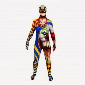 Scary Clown Skinsuit