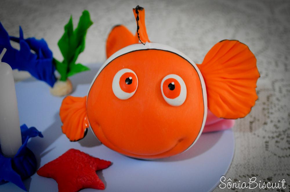 Topo de Bolo Nemo Biscuit