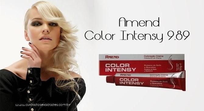 Tonalização: Amend Color Intensy 9.89