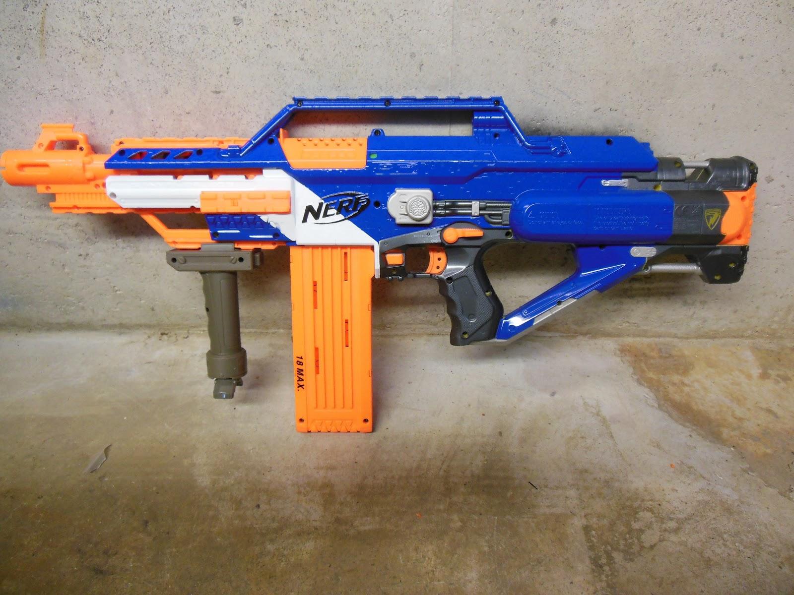 Lasagna678 Nerf Mods Nerf Elite Stampede