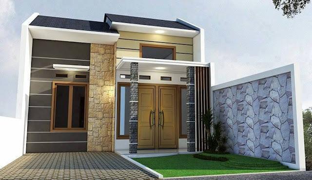 rumah minimalis satu lantai type 36