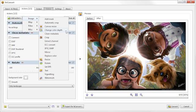 XnConvert: Bagaimana Cara Merubah File JPEG, PNG, JPG, GIF ke ICO? Gunakan Aplikasi Ini + Bisa Batch Pula