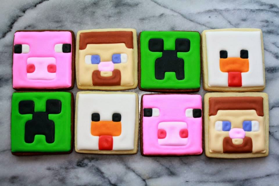 Minecraft How To Make Cookies And Cake
