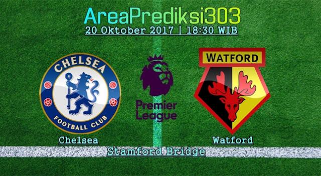 Prediksi Chelsea vs Watford 20 Oktober 2017