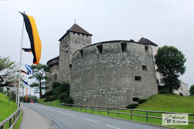 Zamek królewski w Vaduz Liehtenstein