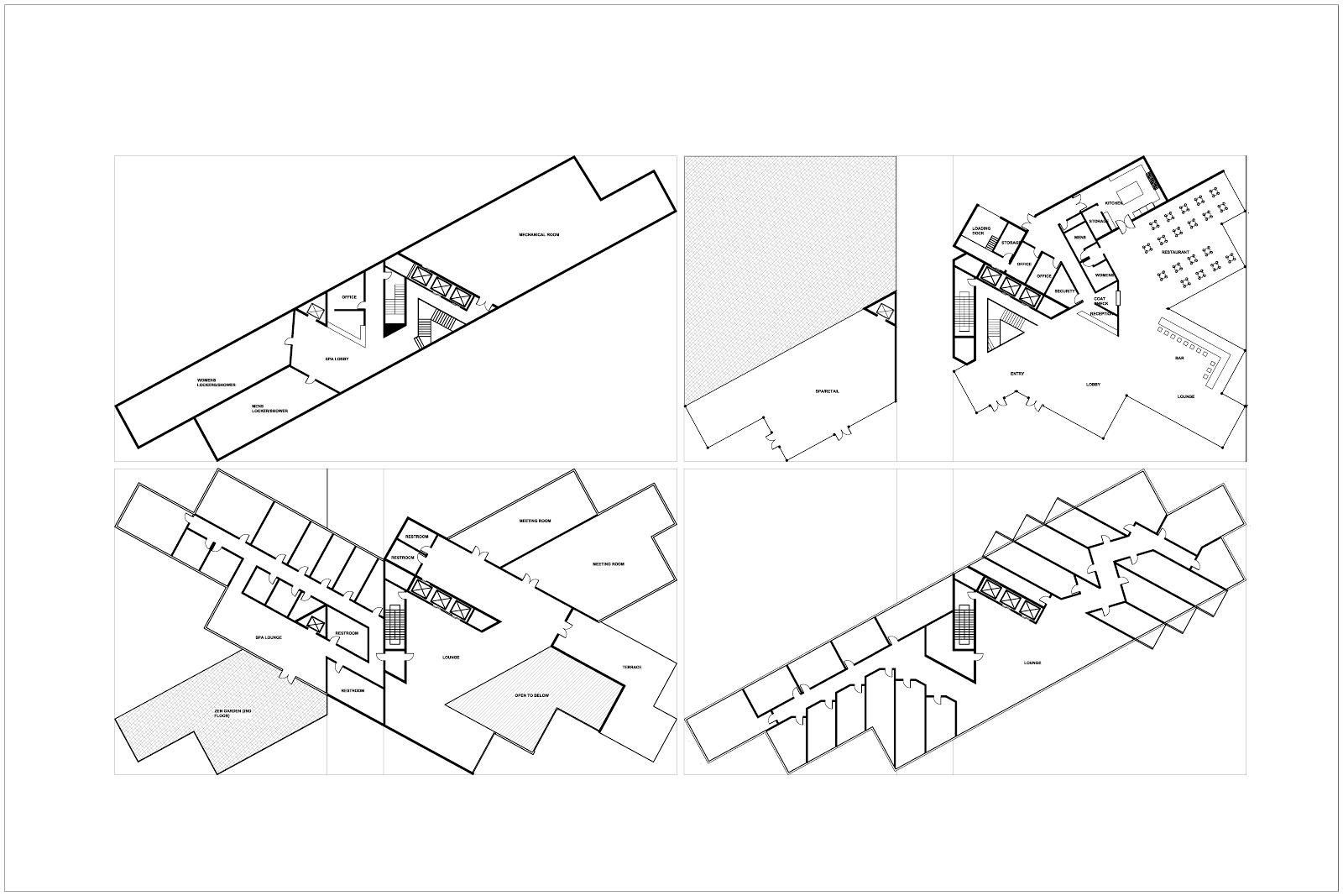 L Ko Urban Hotel Criteria Matrix Matrix Adjacency