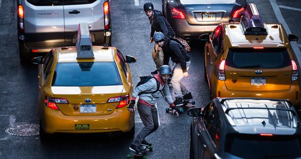 Leiftech eSnowboard Skateboard