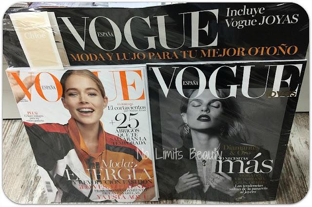 Regalos revistas noviembre 2016: Vogue