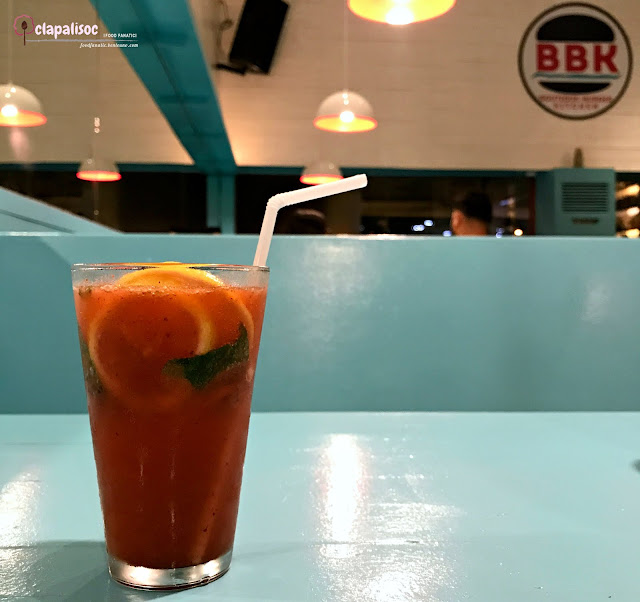 Strawberry, Basil & Lemon Craft Soda from BBK Gourmet Burger BGC