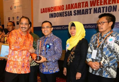 Banyuwangi raih penghargaan Smart Nation Award 2018