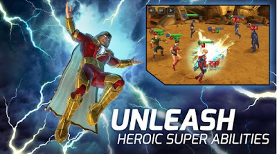 Free Download DC Legends Battle for Justice Mod APK DC Legends: Battle for Justice MOD APK v1.22 (Always Win+Damage)